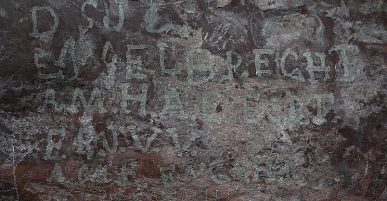 A 'graffiti' wall reveals women's stories from the South African War