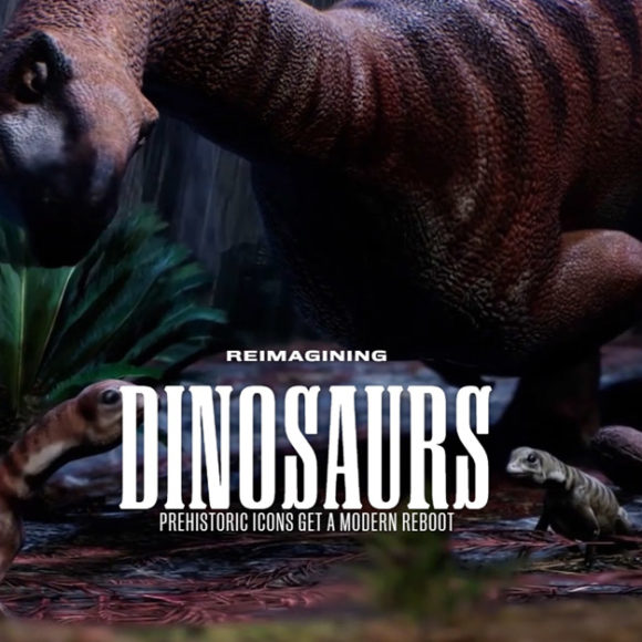 Reimagining dinosaurs prehistoric icons